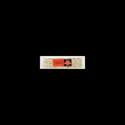 Barre de nougat dur de Montélimar sans gluten, 100g
