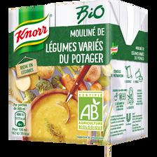 Soupe légumes variés du potager bio KNORR, 30cl