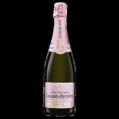 Champagne rosé CANARD DUCHENE, bouteille de 75cl