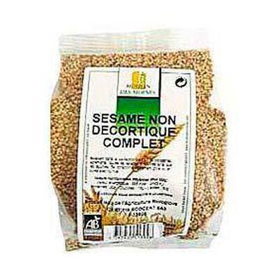 Graines de sésame complètes bio MOULIN DES MOINES, 250g