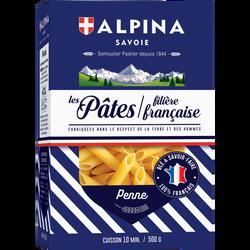 Penne filière Française ALPINA SAVOIE, paquet de 500g