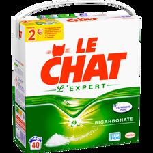 Lessive en poudre expert LE CHAT, 40 mesures
