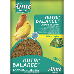 Nutri'balance canaris, AIME, 3kg