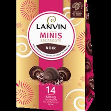 Lanvin L'escargot Mini Au Chocolat Noir , Boîte De 133g