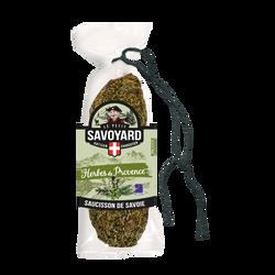 Saucisson sec aux herbes de Provence LE PETIT SAVOYARD, 200g