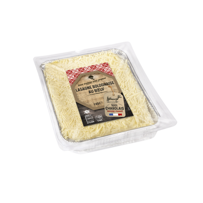 Lasagne à la bolognaise à la viande charolaise, 1kg