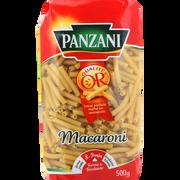 Panzani Macaroni Panzani, Paquet De 500g