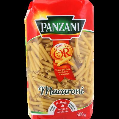 Macaroni PANZANI, paquet de 500g