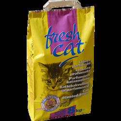 Litière granulés parfumée FRESHCAT, sac de 8kg