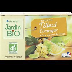 Infusion tilleul oranger bio JARDIN BIO 30g
