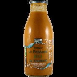 Soupe poisson au saumon bio SELECT MAREE, 1kg