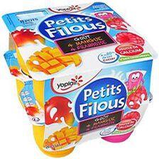 Yaourt Petit Filous FRAMB/MANGUE x 8