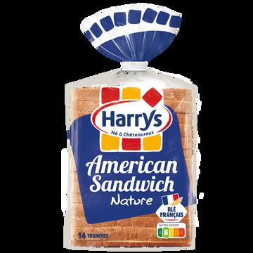 Harry's Pain De Mie American Sandwich Nature Harrys, 550g