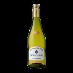 Vin blanc AOP Bourgogne Chardonnay Couvent des Visitandines, bouteillede 75cl