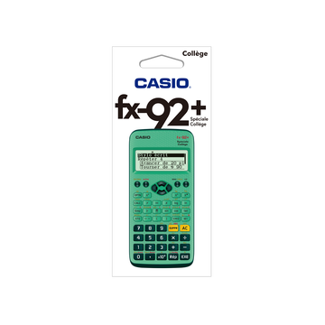 Casio Calculatrice Scientifique Casio - Fx92 Plus - Collège