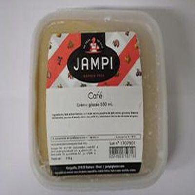 Crème glacée café JAMPI, bac de 550ml