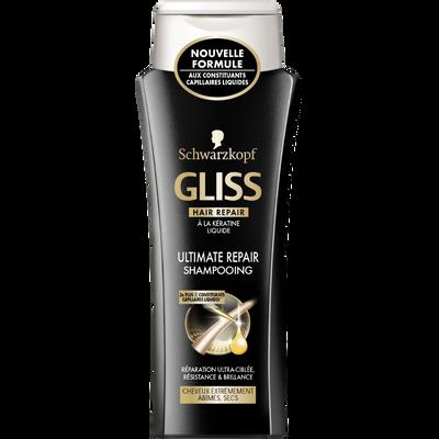 Shampoing Ultimate Repair GLISS,flacon de 250ml