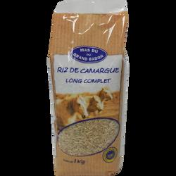 Riz long complet de Camargue GRAND BADON, 1kg