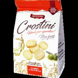 Crostini à l'huile d'olive vierge extra ARTESANI,100g