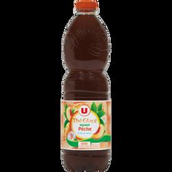 Boisson aux thé aromatisée pêche U, 1,5l