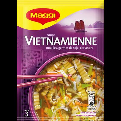 Soupe Vietnamienne au poulet et soja déshydratée MAGGI, 40g, 75cl