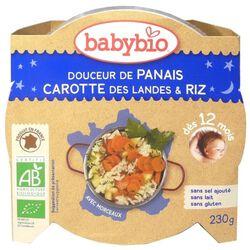 Ass Bonne nuit panais, carotte, polenta BABYBIO dès 12 mois 230g