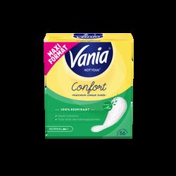 Protège-slips confort + normal aloe vera VANIA, x56