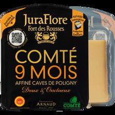 Comté au lait cru, Appellation d'Origine Protégée, JURAFLORE, 35% de MG, 200g, 9 mois d'afffinage