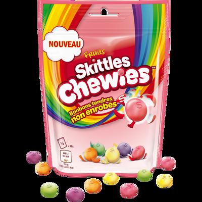 SKITTLES chewies fruits, sachet de 152g