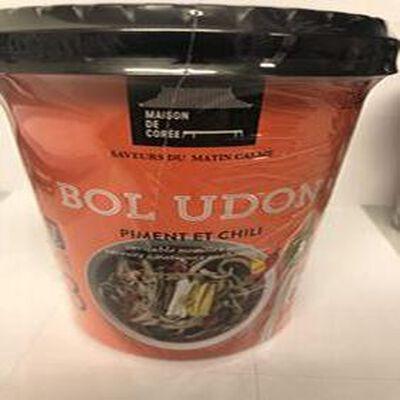 Nouilles Udon Piment et Chili 173g