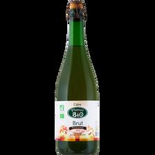 Cidre brut, PLANET BIO, 5°, 75cl