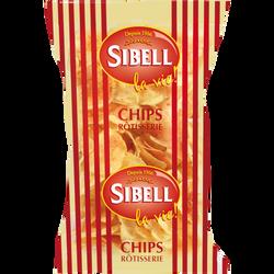 Chips rôtisserie SIBELL, 120g