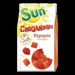 Papaye cube, SUN, sachet 250g