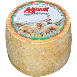 Petit Agour pur brebis au lait pasteurisé, 35% MAT.GR.