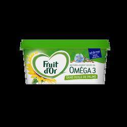 Matière grasse allége à tartiner et à cuire, enrichie en vitamine D, aux huiles 100% végétales 50%mg FRUIT D'OR sel de mer 450g