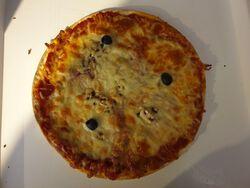 PIZZA MAGRET DE CANARDFAIT MAISON