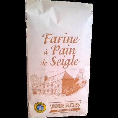 Farine de seigle MINOTERIE DE L'ECLUSE, 1kg
