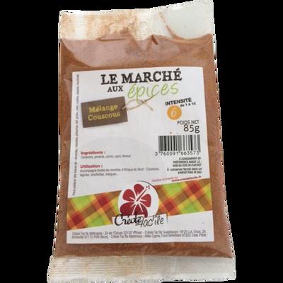 Epices à couscous CREOLE FACILE, sachet de 85g