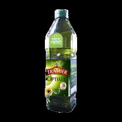 Huile optima olive + tournesol TRAMIER, 1l