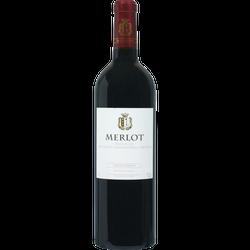 Vin rouge IGP Pays d'Oc Merlot grande réserve U SAVEURS, 75cl