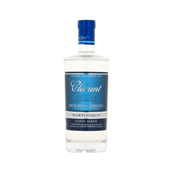 Rhum blanc de Martinique CLEMENT canne bleue 50°, 70cl
