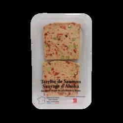 Terrine de saumon sauvage aux fèves, barquette 120g