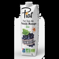 Pur jus de raisin rouge bio PIAF, 1l