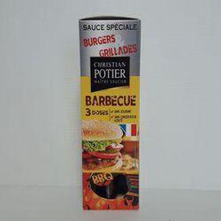 Sauce barbecue CHRISTIAN POTIER sachets 3x50g