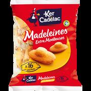 Ker Cadélac Madeleines Moelleuses Extra Ker Cadelac, Sachet De 400g