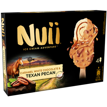 Nuii Nuii Cara White Choco & Texan Pécan, 264g