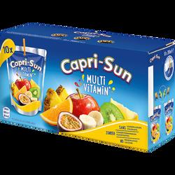 Boisson aux fruits multivitaminé CAPRI SUN, 10x20cl