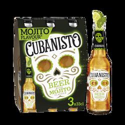 Bière mojito CUBANISTO, 5,9°, 3x33cl