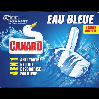 Blocs wc Eau Bleue CANARD, x2