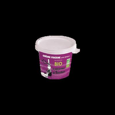 Crème fraîche semi-épaisse bio LE P'TIT FERMIER DE KERVIHAN, 20% de MG, 25cl